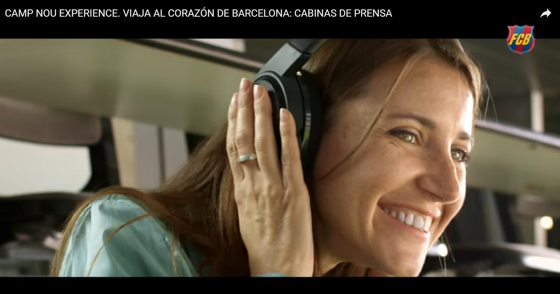 Barça Camp Nou Lounge, nuevo spot TV para JMA